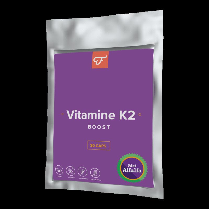 Kalkaanslag door gebrek aan vitamine k2