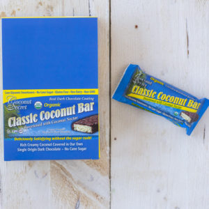 Coconut Secret Organic Classic Coconut Bar, 50 Grams