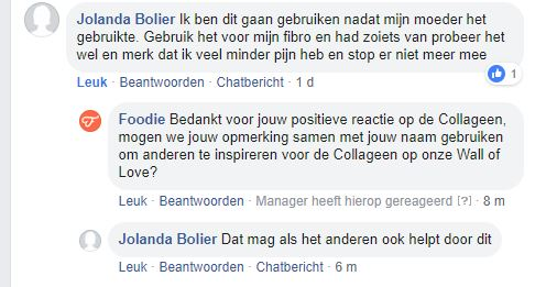 2019 04. april COLLAGEEN, Jolanda Bolier GOEDKEURING