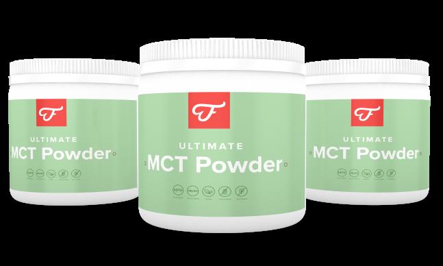 3x Ultimate MCT Powder
