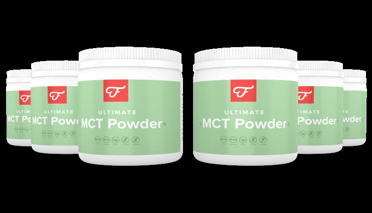 6x Ultimate MCT Powder